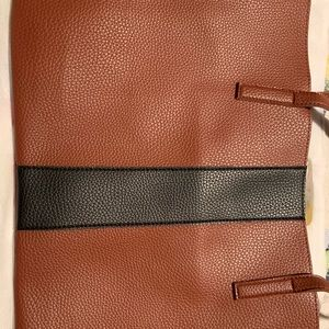 Vince Camuto leather bag.